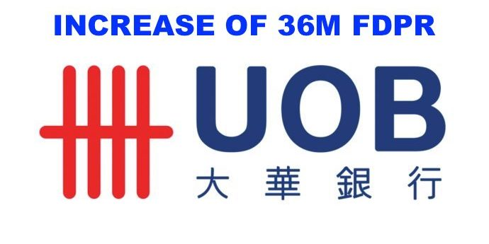 UOB Singapore retires Fixed Deposit FDPR mortgages and