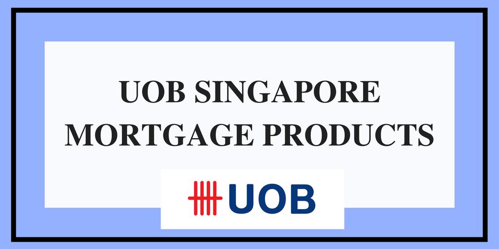 uob singapore mortgage products